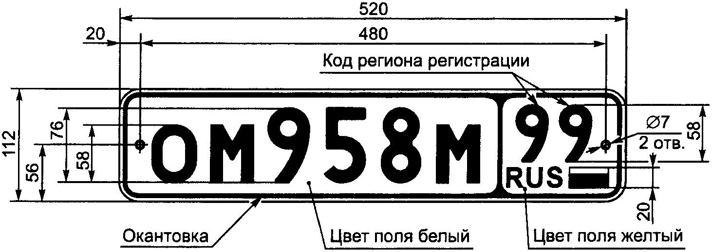 Юрист по ДТП о государственных знаках
