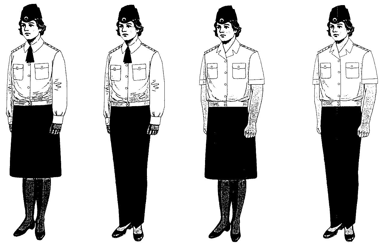 Правила ношения форма одежды в картинках
